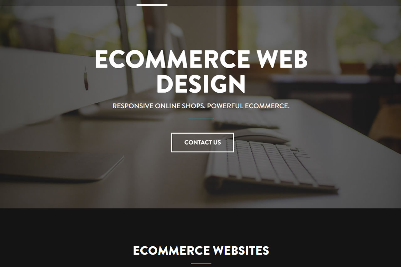 Ecommerce Website Design in Kenya - Custom Built eCommerce